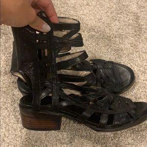 Free bird queen shoes.